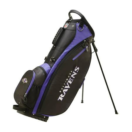 Wilson NFL Carry Golf Bag, Baltimore Ravens