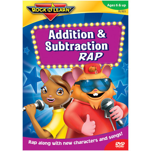 Rock N Learn Addition And Subtraction Rap On Dvd