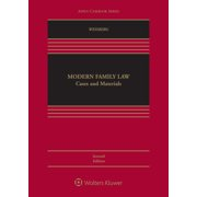 Aspen Casebook: Modern Family Law: Cases and Materials (Hardcover)