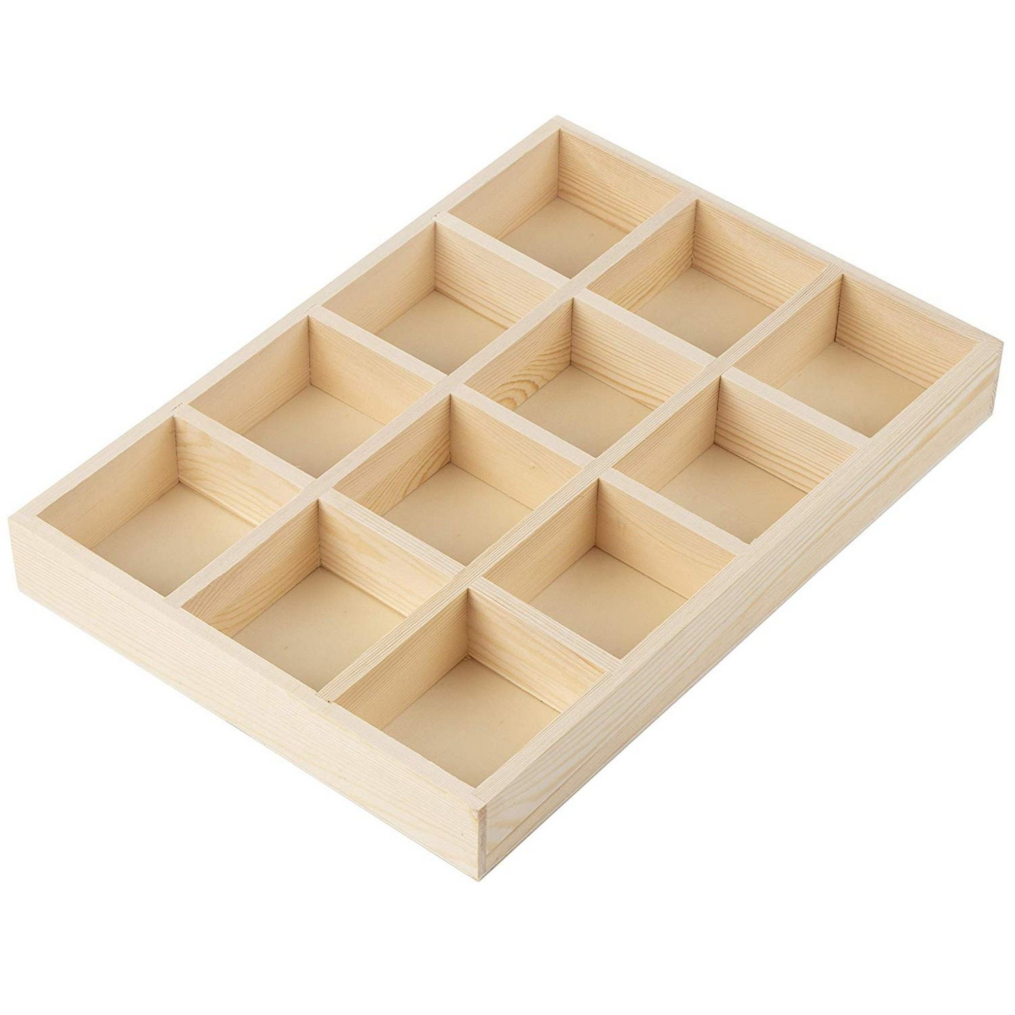 Wooden Drawer Organizer Desk