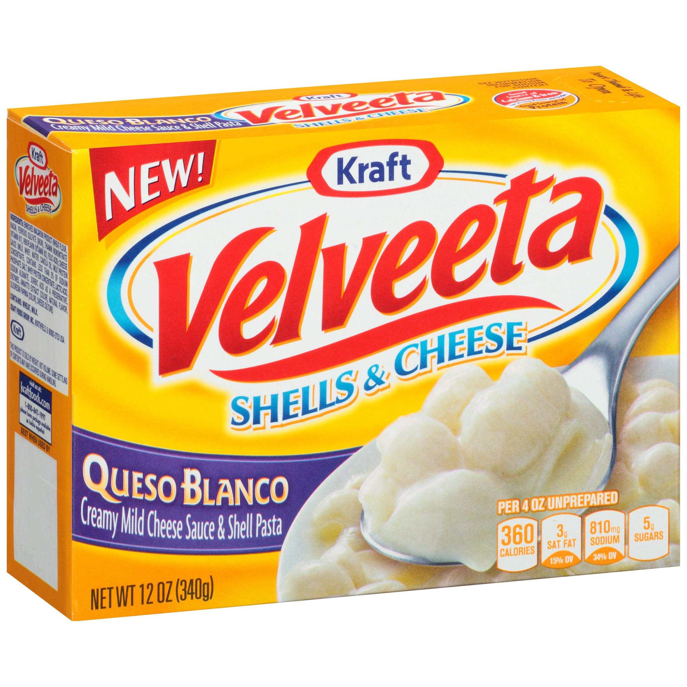 Kraft Velveeta Queso Blanco Shells & Cheese, 12 oz by Kraft Heinz Foods Company