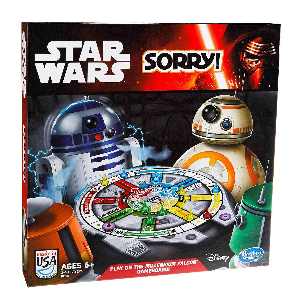 Sorry! Star Wars Edition Family Board Game 2014 Disney , Yummy Wars Epic Size Memory... by