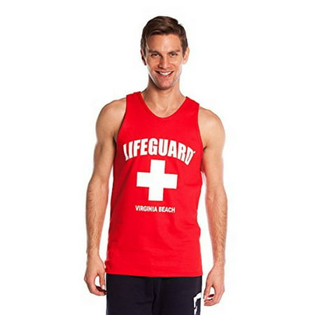 Official Lifeguard Guys Muscle Tank (Best Tank Tops For Guys)