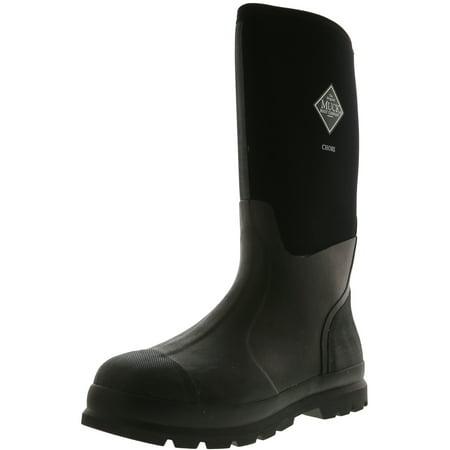 Muck Boot Company Chore Black Knee-High Fabric Rain - 12M /