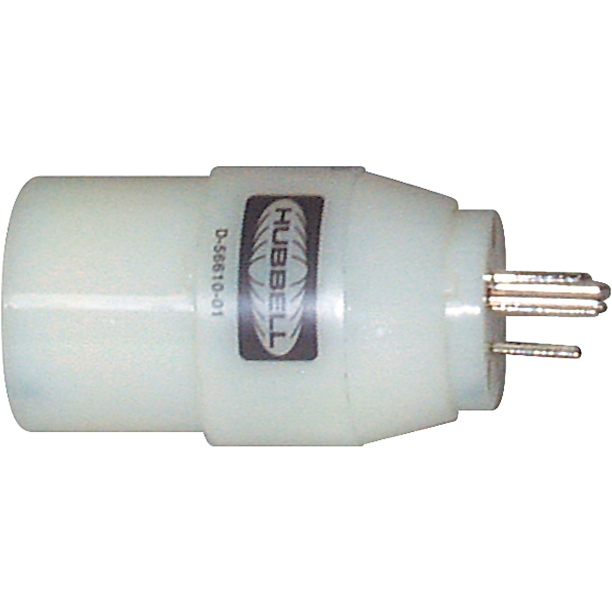 Hubbell HBL31CM28 White 30A 125V Twist Lock Female to 15A 125V ...