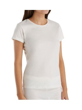 5976af14081 Product Image Women s Cottonique W12210 Latex Free Organic Cotton Cap  Sleeve Shirt