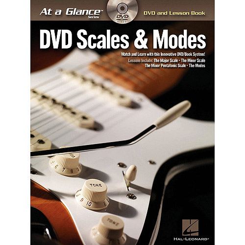 Guitar Scales and Mode Book with DVD