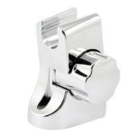 Silver Tone Wall Mount Adjustable Rotatable   Holder Bracket