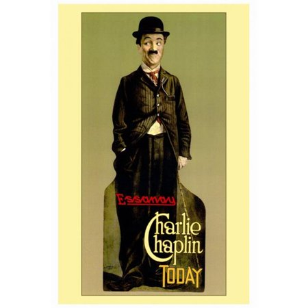 Posterazzi MOVIF2178 Charlie Chaplin Movie Poster - 27 x 40 in. - image 1 de 1