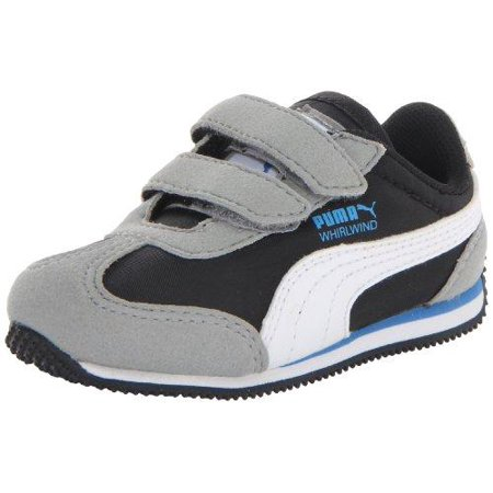 PUMA Whirlwind V Kids Toddler/Little Kid Sneakers Shoes - Limestone Gray (Shoes Puma Kits)