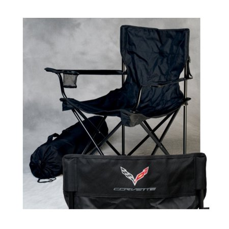 Swell Corvette Travel Chair With C7 Corvette Logo Black Walmart Com Ibusinesslaw Wood Chair Design Ideas Ibusinesslaworg