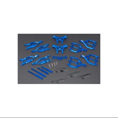 INTEGY RC Model Hop-ups T3039BLUE Suspension Kit Monster-...