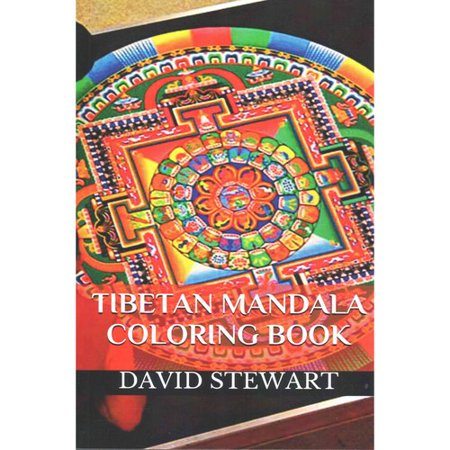 Tibetan Mandala Coloring Book Meditation Healing Books For Adults