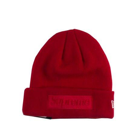88b990e88e3 Supreme x DC New Era Box Logo Beanie Red 32884 - Walmart.com