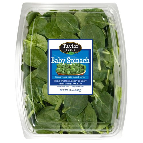 Taylor Farms Baby Spinach, 11 oz