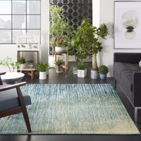 Nourison Passion Navy/Light Blue Area Rug