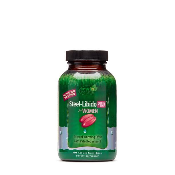 Irwin Naturals Steel-Libido PINK for Women - Walmart.com - Walmart.com