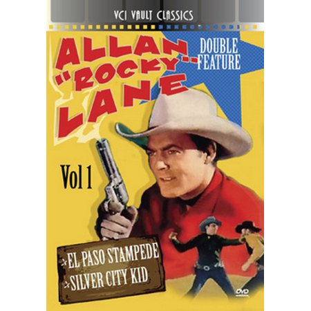 MOD-A ROCKY LANE WESTERN DOUBLE FEATURE VOL 1 (1944-53) NON-RETURNABLE (Chase Lane)