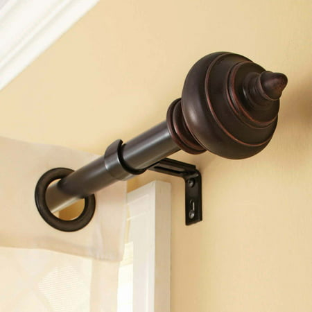 Better Homes And Gardens Urn Shaped Curtain Rod 36 To 66