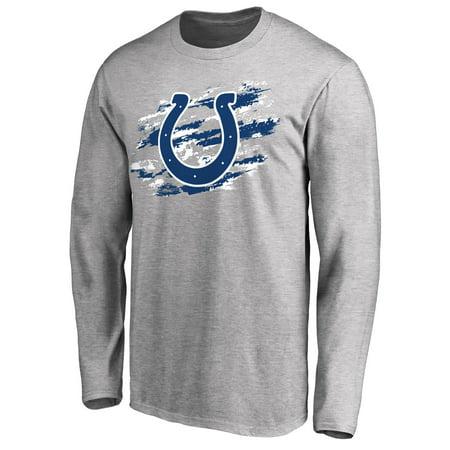 Indianapolis Colts NFL Pro Line True Colors Long Sleeve T-Shirt - Ash
