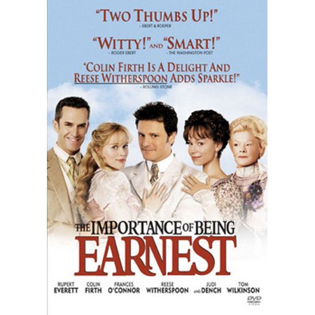 The Importance Of Being Earnest (DVD) (Comedy Of Manners The Importance Of Being Earnest)