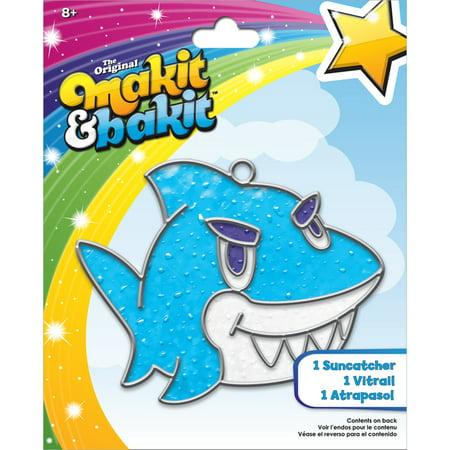 Makit Bakit Suncatcher Kit Shark Walmart