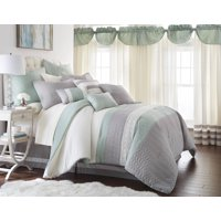 24 PIECE COMFORTER SET PALISADES QUEEN