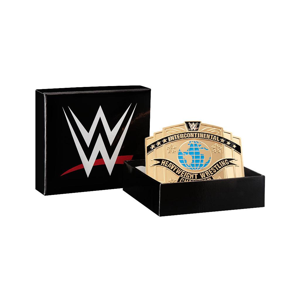 WWE Intercontinental Championship Belt Buckle