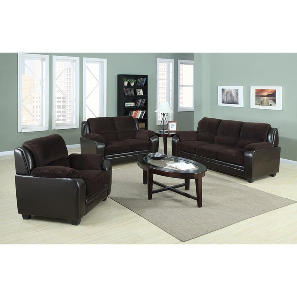 Walmart Furnitures: US Pride Furniture Osito Corduroy Fabric With Genuine