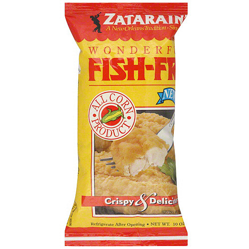 Zatarain's Crispy & Delicious Fish Fri, 10 oz (Pack of 12)