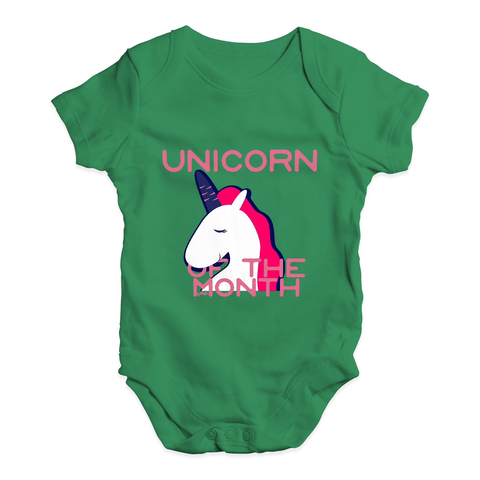 4c79e2ae1 Funny Infant Baby Bodysuit Unicorn Of The Month Baby Unisex Baby ...