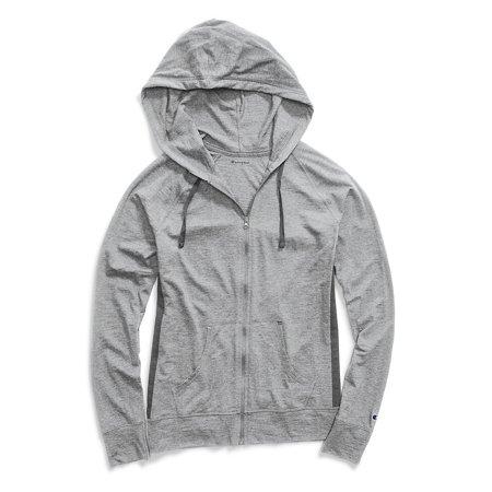 Champion Women's Heathered Jersey Jacket - J4165 ()