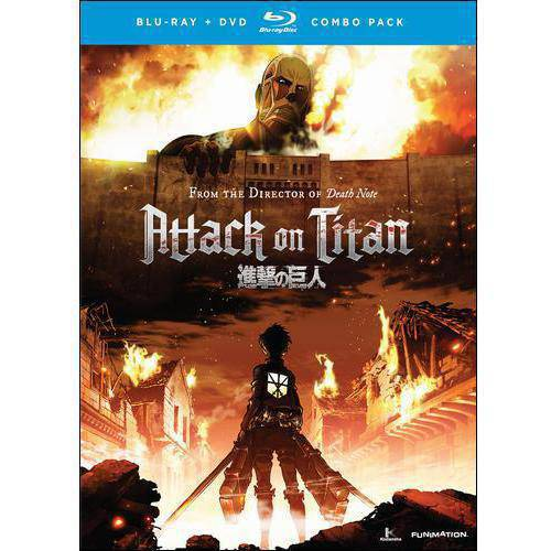 Attack On Titan: Part One (Japanese) (Blu-ray + DVD) by
