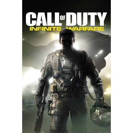 Call Of Duty  Infinite Warfare   Gaming Poster   Print  Game Cover   Key Art   Size  24   X 36