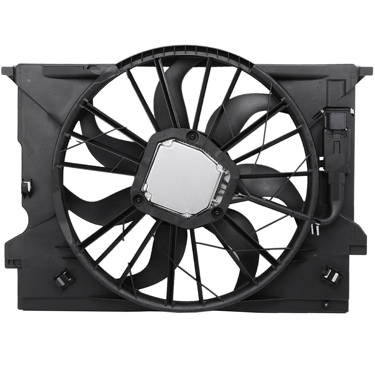 topaz 2115001693 radiator cooling fan assembly for mercedes benz Mercedes E350 Sport topaz 2115001693 radiator cooling fan assembly for mercedes benz walmart