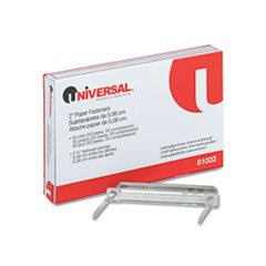 Universal 81002 Complete Two-Piece Paper File Fasteners, Two Inch Capacity, 50Box - image 1 de 1