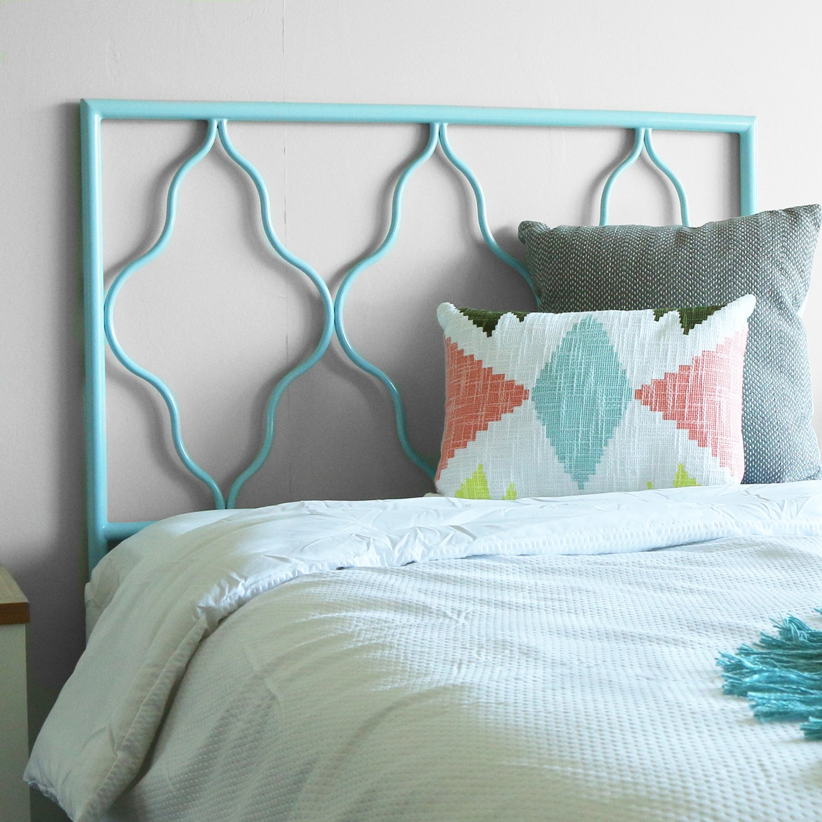 Walker Edison Moroccan Twin Size Headboard Multiple Colors
