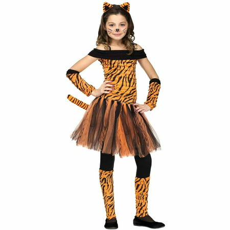 Tigress Child Halloween Costume - Orange And Black Costumes