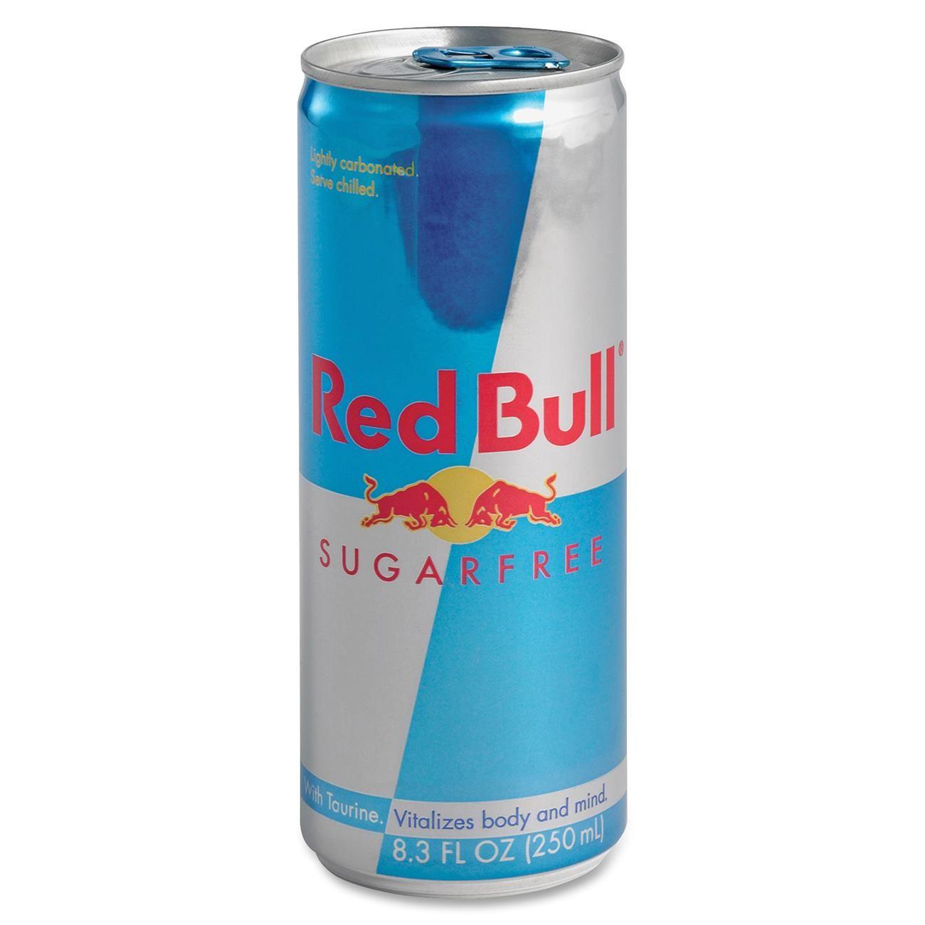 Red Bull Energy Drink, 8.3oz. Can, 24/CT, Sugar-Free RBD1...