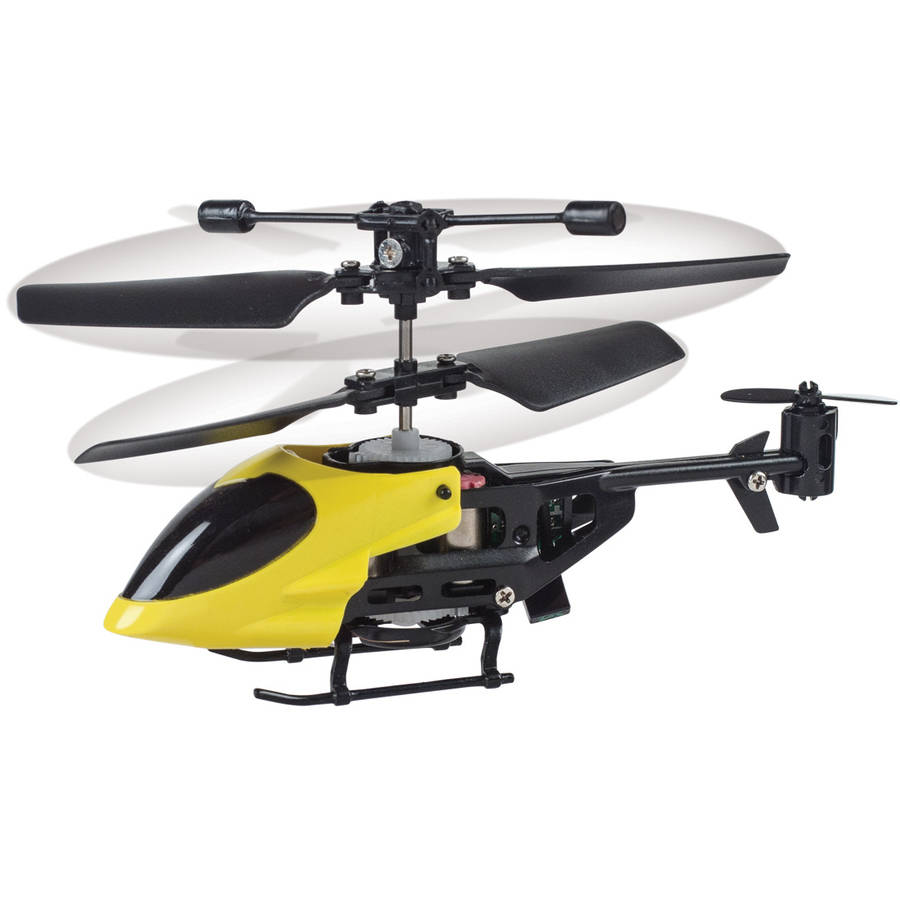 World's Smallest RC Helicopter, Yellow