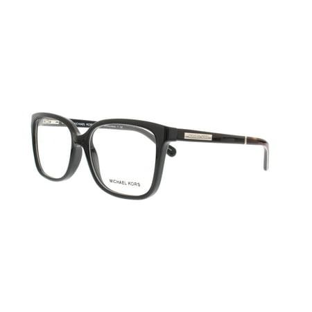 af3f56168 MICHAEL KORS Eyeglasses MK 8007 3009 Black Tortoise 55MM - Walmart.com