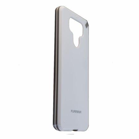 PureGear Slim Shell Series Slim Hardshell Case Cover for LG G6 - White/Gray - image 1 of 2