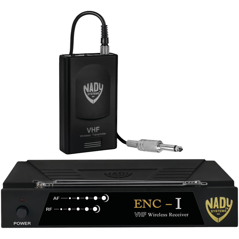 Nady ENC 1 GT ENC-I Single-Channel Professional VHF Wireless Instrument System by Nady