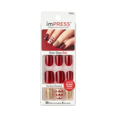imPRESS Press-On Manicure One-Step Gel Symphony - 30 CT - Walmart.com