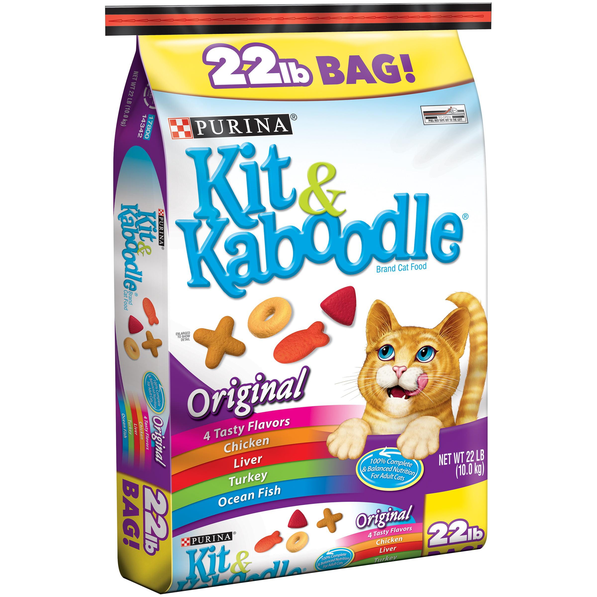 Purina Kit & Kaboodle Original Cat Food 22 lb. Bag