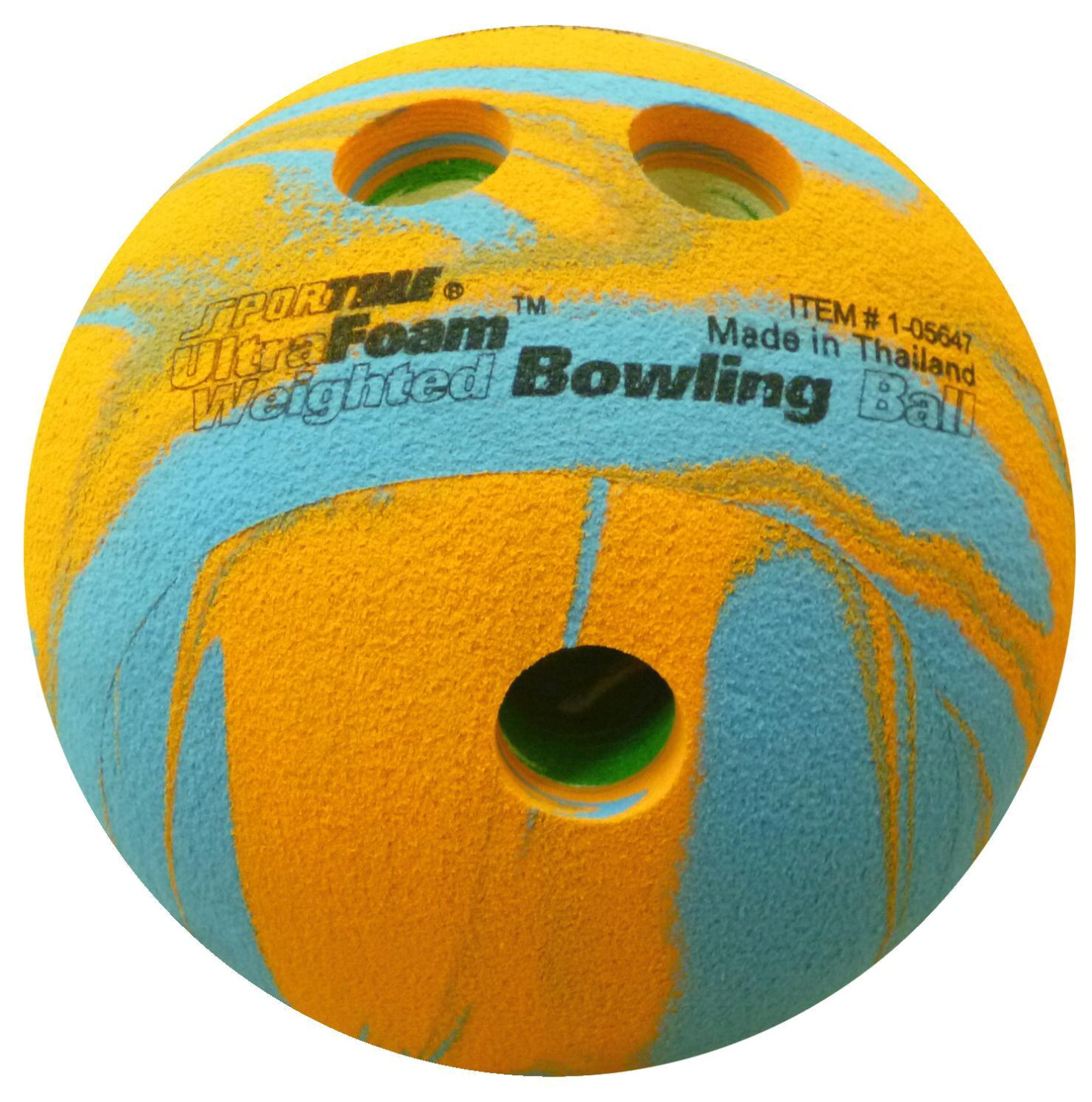 Sportime UltraFoam Weighted Bowling Ball, 6.75