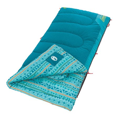 Coleman Kids 50°F Sleeping Bag for Camping or Sleepovers](Personalized Sleeping Bags)