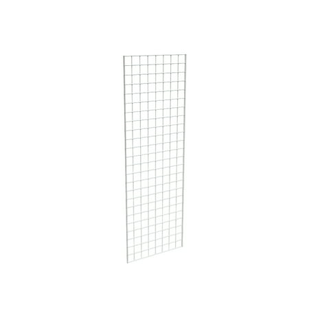 Grid Panel for Retail Display â Perfect Metal Grid for Any Retail Display, 2â Width x 6â Height, 3 Grids Per Carton (White)
