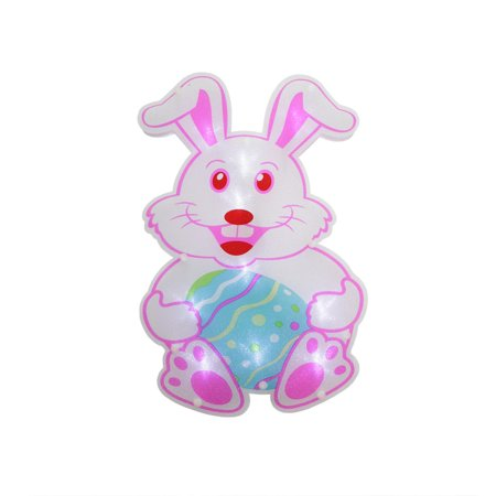 Battery operated led lighted easter bunny rabbit - Light up easter decorations ...