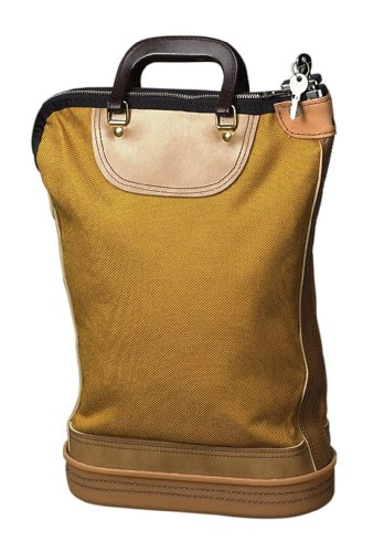 "Pm Nylon Security Mail Bag 24"" X 18"" Ballistic cordura Nylon, Plastic 1each Gold (04645) by PM COMPANY"
